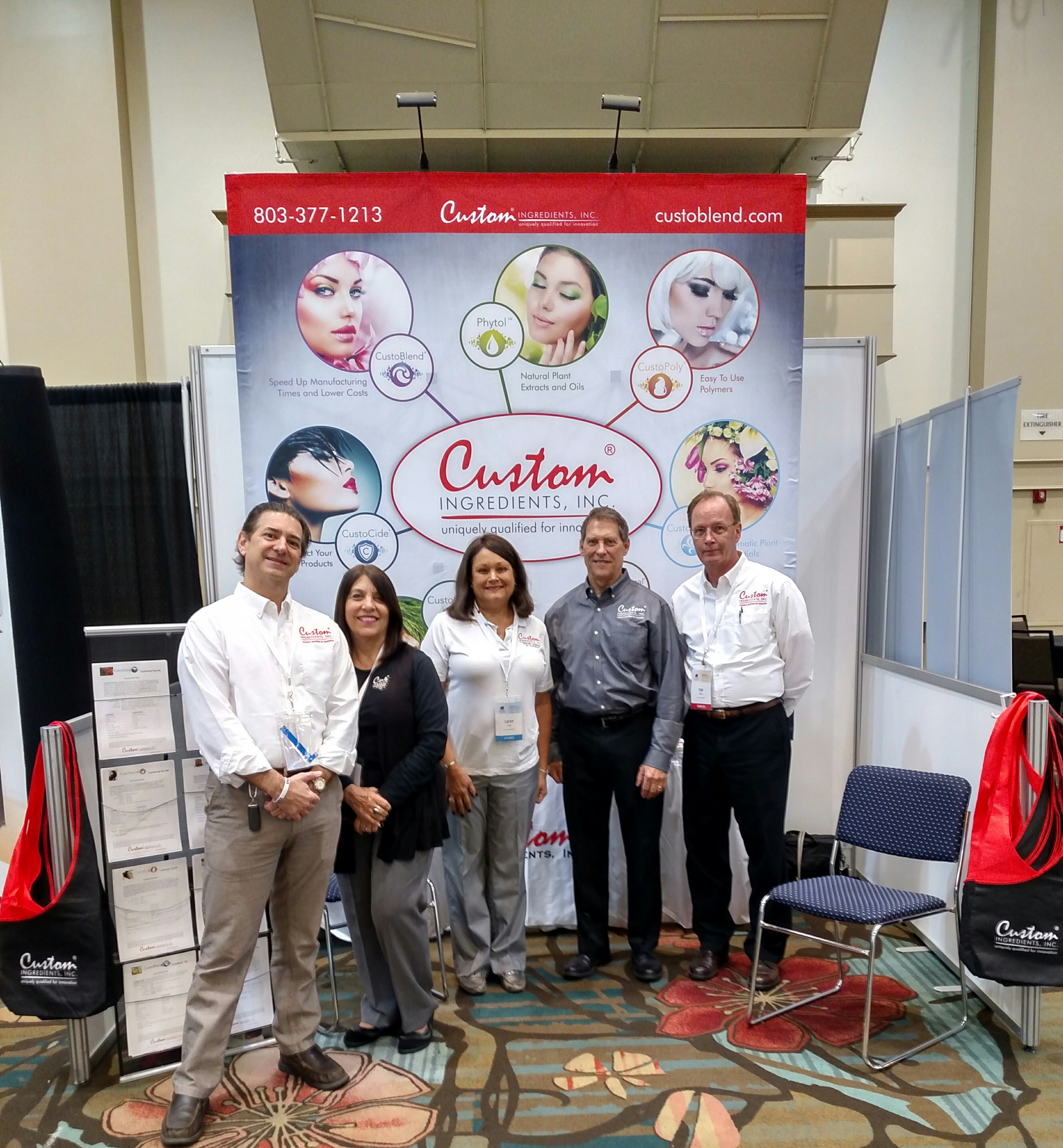 Our Team at IFSCC 2016